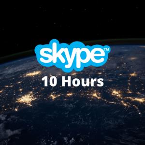 10 Hours of Skype Meetings