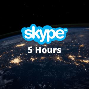 5 Hours of Skype Meetings